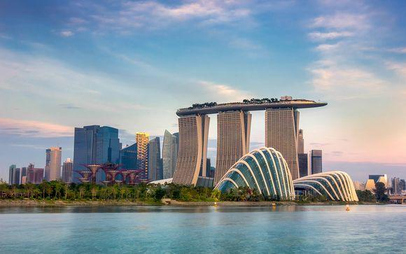 Destination...Singapore!
