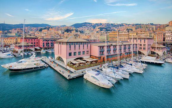 Elegant Hotel with Picturesque Harbour Views