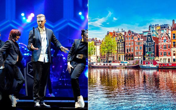 Elegant Amsterdam Break with Justin Timberlake Concert
