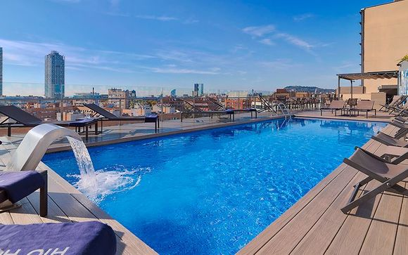 Urban Sophistication with a Rooftop Pool