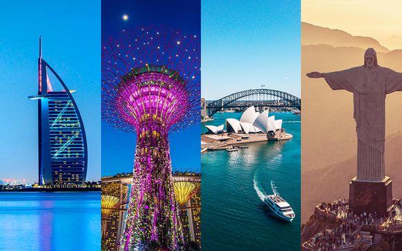 Luxury Journey Around the Globe in 15 Days
