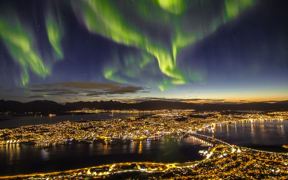 Northern Lights Search - Thon Hotel Tromso 3*