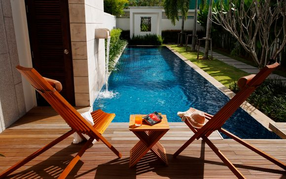 Duplex-Style Private Pool Villa with Optional Bangkok Break