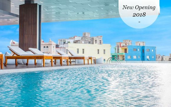 Brand New Havana Hotel and All-Inclusive Suite Stay