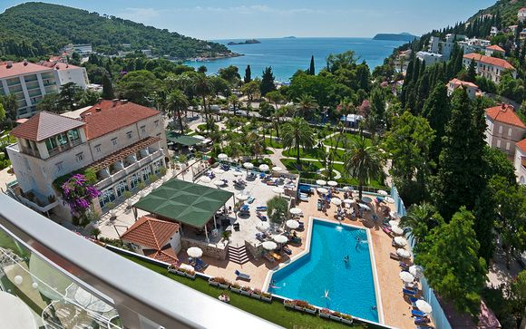 Four Star Grand Hotel Park Is Located In The Centre Of Dubrovniks Lapad Peninsula And Boasts High End Facilities