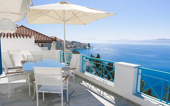 Stylish Apartments Facing The Aegean Sea