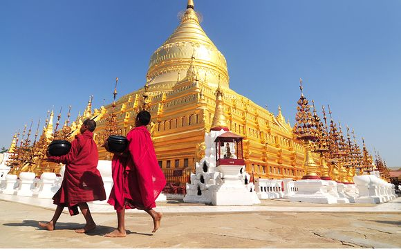 Option 1 (Mandalay - Bhamo - Bagan): 13 Nights starting on 20th July