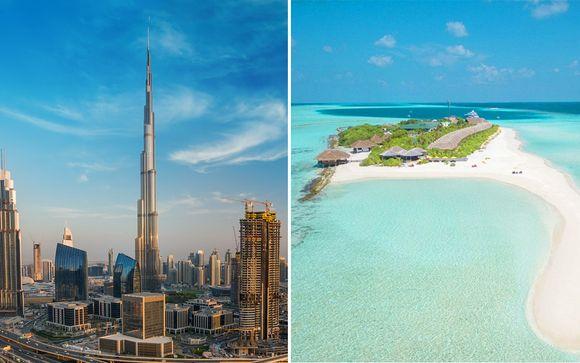 Crowne Plaza Dubai Festival City 5* & Dhigufaru Island Resort 4*