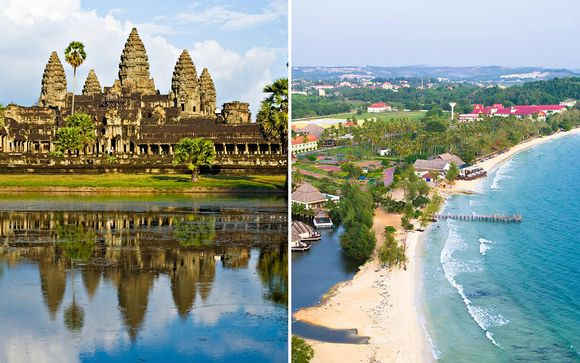 Cambodia Cities & Beach 4*