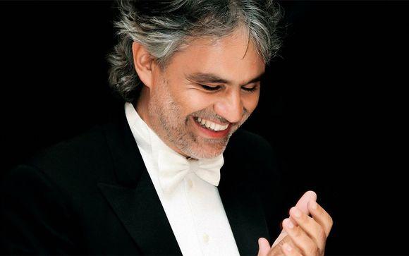 Andrea Bocelli at Teatro del Silenzio