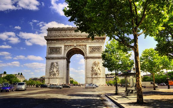Destination...Paris, Arc de Triomphe
