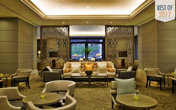 Elegant Hotel with Luxury Spa and Park Views