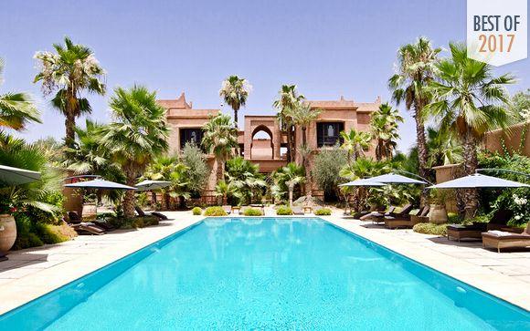 Luxury Oasis in La Palmeraie