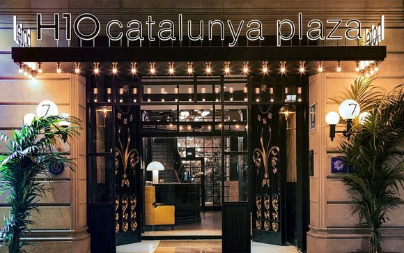 H10 Catalunya Plaza Boutique Hotel 3*