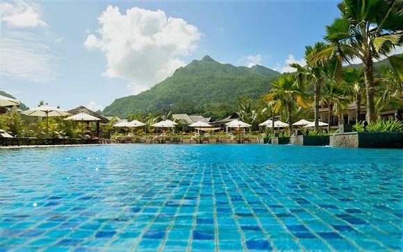 Idyllic Island Paradise in the Sun