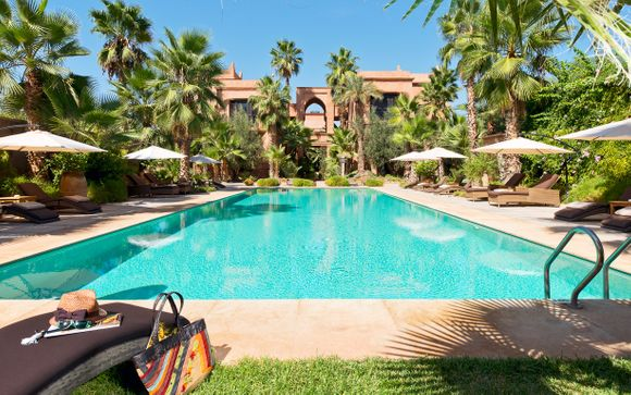 Luxury Oasis in La Palmeraie