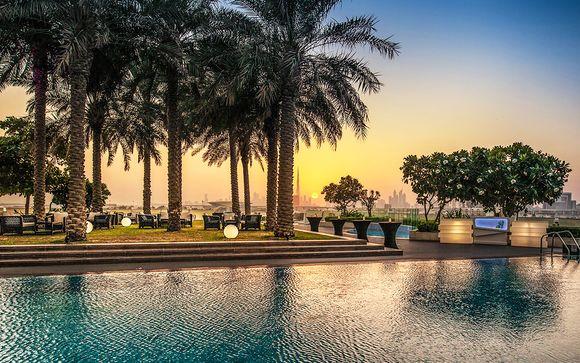Skyline Views from Dubai Creek