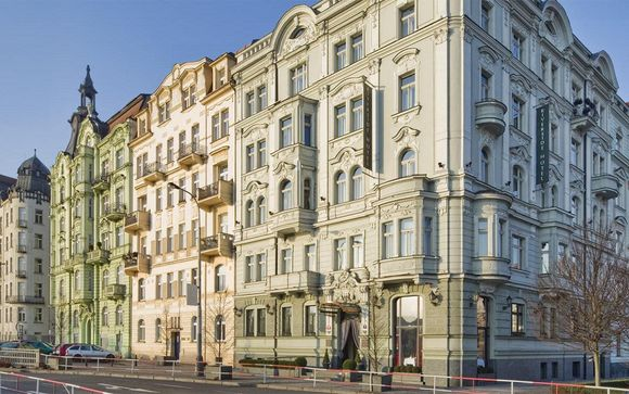 Charming Hotel in Vibrant Anděl District
