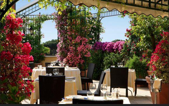 Elegant Hotel with Romantic Roof Garden