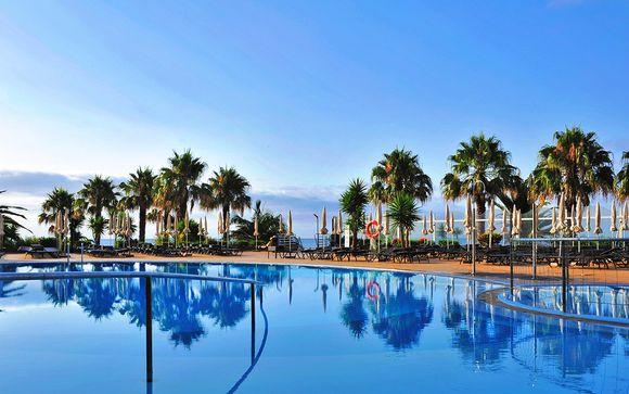Beachfront Hotel with Stunning Sea Views