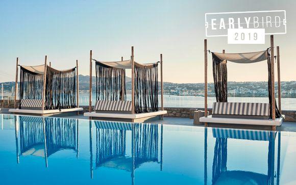 Boutique Luxury Escape with Sensational Aegean Views