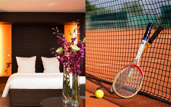 Roland Garros 2018 & Hotel Oceania Paris 4*