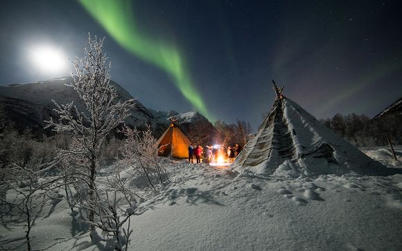 Winter in Tromso with Northern Lights Safari 4*