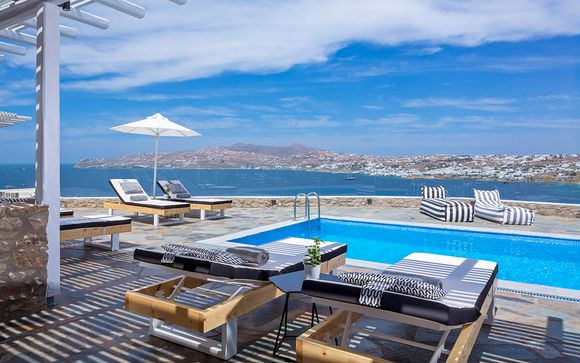 Boutique Getaway with Aegean Views