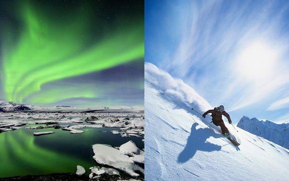 North Iceland Ski & Northern Lights Tour 4*