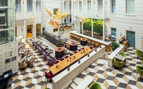 Indigo Hotel St.Petersburg-Tchaikovskogo 4*