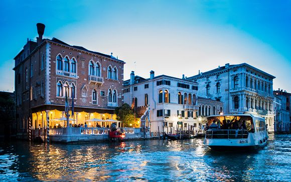 Panoramic Views of the Grand Canal