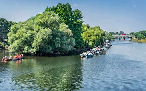 DoubleTree by Hilton London Kingston Upon Thames 4* & Thames River Cruise