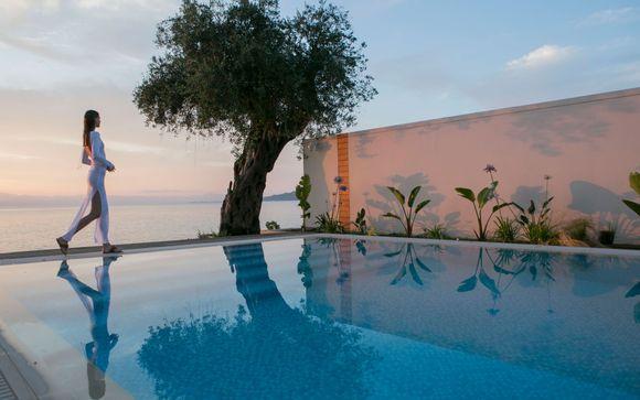 Lavish Retreat Surrounded by Majestic Grecian Scenery