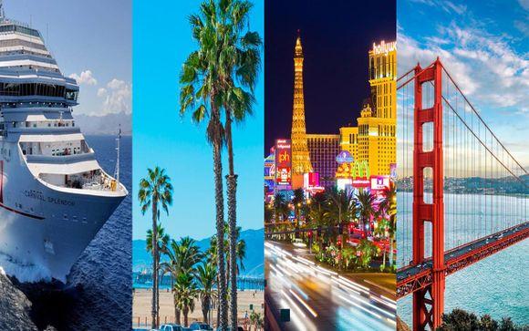 Luxor Hotel & Casino, The Queen Mary, Hotel Diva & Mexican Riviera Cruise