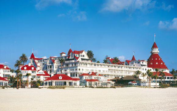 Hotel del Coronado 5* with Optional New York Stopover