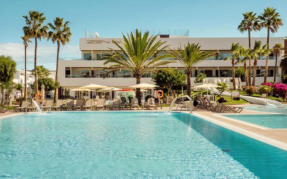Struttura moderna in All Inclusive presso Fuerteventura
