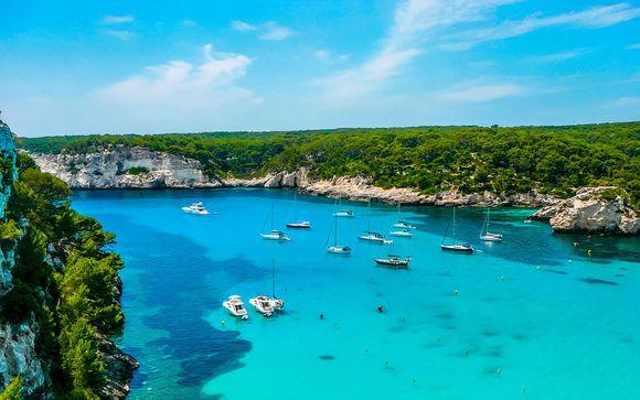 Cala Tirant, en Menorca, te espera