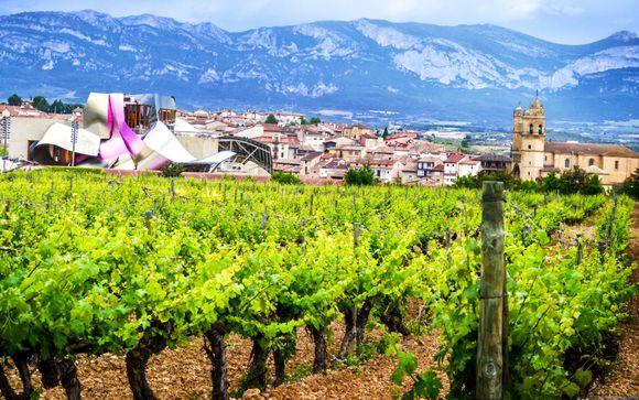 Elciego, en la Rioja Alavesa, te espera