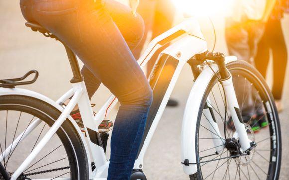 Ihre enthaltene Option (nur bei Wahl des Angebots mit Fahrradtour)