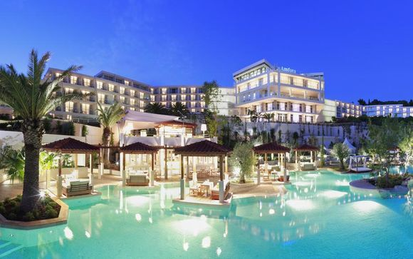 Amfora Hvar Grand Beach Resort 4*