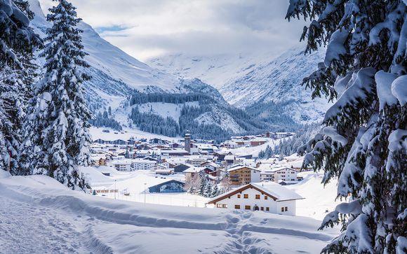 Lussuoso soggiorno alpino ai piedi delle piste