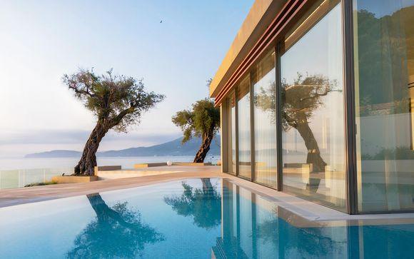 Gioiello greco tra lusso ed eleganza in mezza pensione