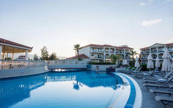 Gita sull'isola greca in un resort di lusso con eccellenti strutture termali