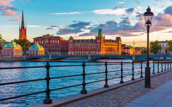 Eleganza e comfort nel cuore di Stoccolma