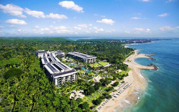 Poussez les portes de l'hôtel Sofitel Nusa Dua Beach Resort 5*