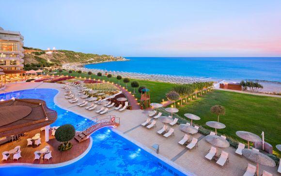 Resort con camere vista mare