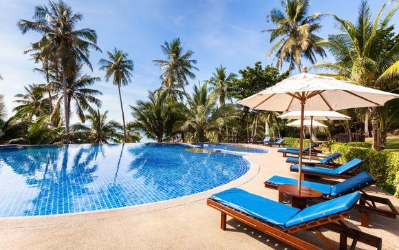 Magnifico Resort circondato da rocce roose in granito rosa