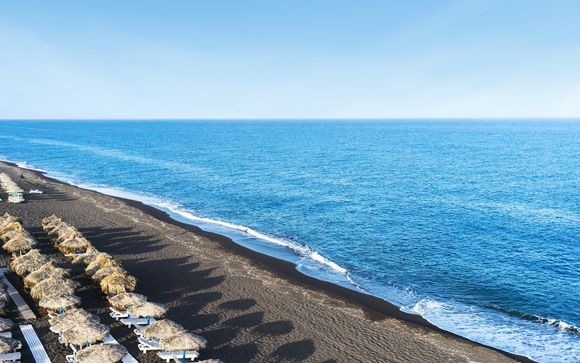Fuga greca in nuovissime Suite fronte mare
