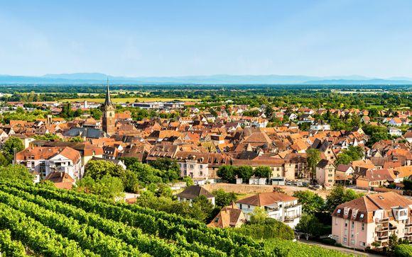 Sulla via del vino francese che tocca tre località cardine