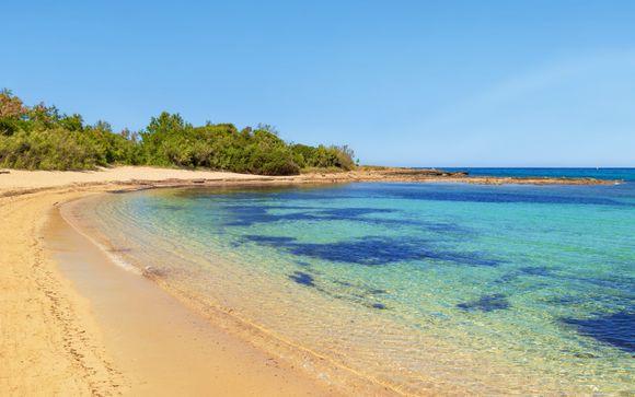 Mare e relax sulla spiaggia di Torre Santa Sabina